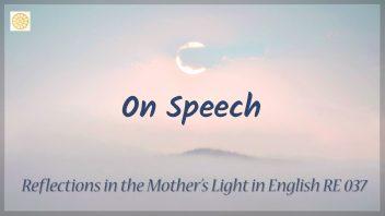 RE 037 On Speech