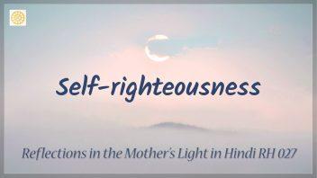 RH 027 Self-righteousness
