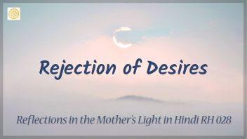 RH 028 Rejection of Desires