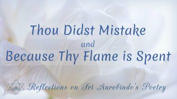 SAP 01 Thou Didst Mistake and Because Thy Flame is Spent cc