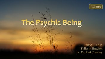 TE 010 The Psychic Being (Forster City CA 2008)