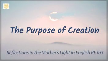 RE 053 The Purpose of Creation