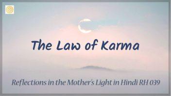 RH 039 The Law of Karma