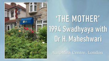 1994 Swadhyaya post cover