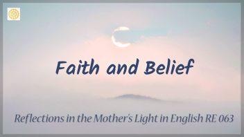 RE 063 Faith and Belief