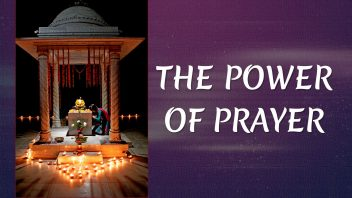 TE 316 The Power of Prayer n