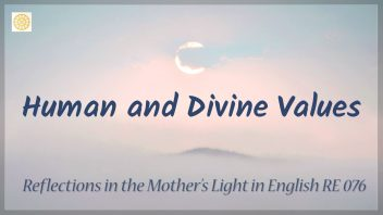 RE 076 Human and Divine Values