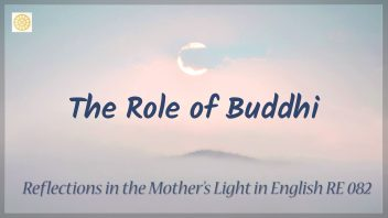 RE 082 The Role of Buddhi