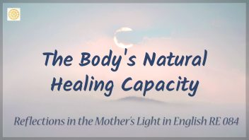 RE 084 The Body's Natural Healing Capacity