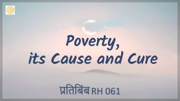 RH 061 Poverty, its Cause and Cure