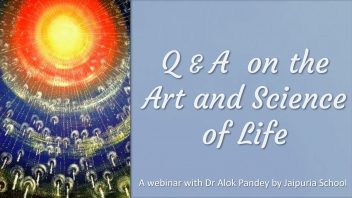 TE 347 Q&A on The Art and Science of Life