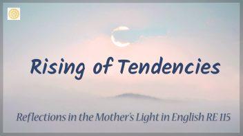 RE 115 Rising of Tendencies