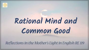 RE 119 Rational Mind and Common Good n